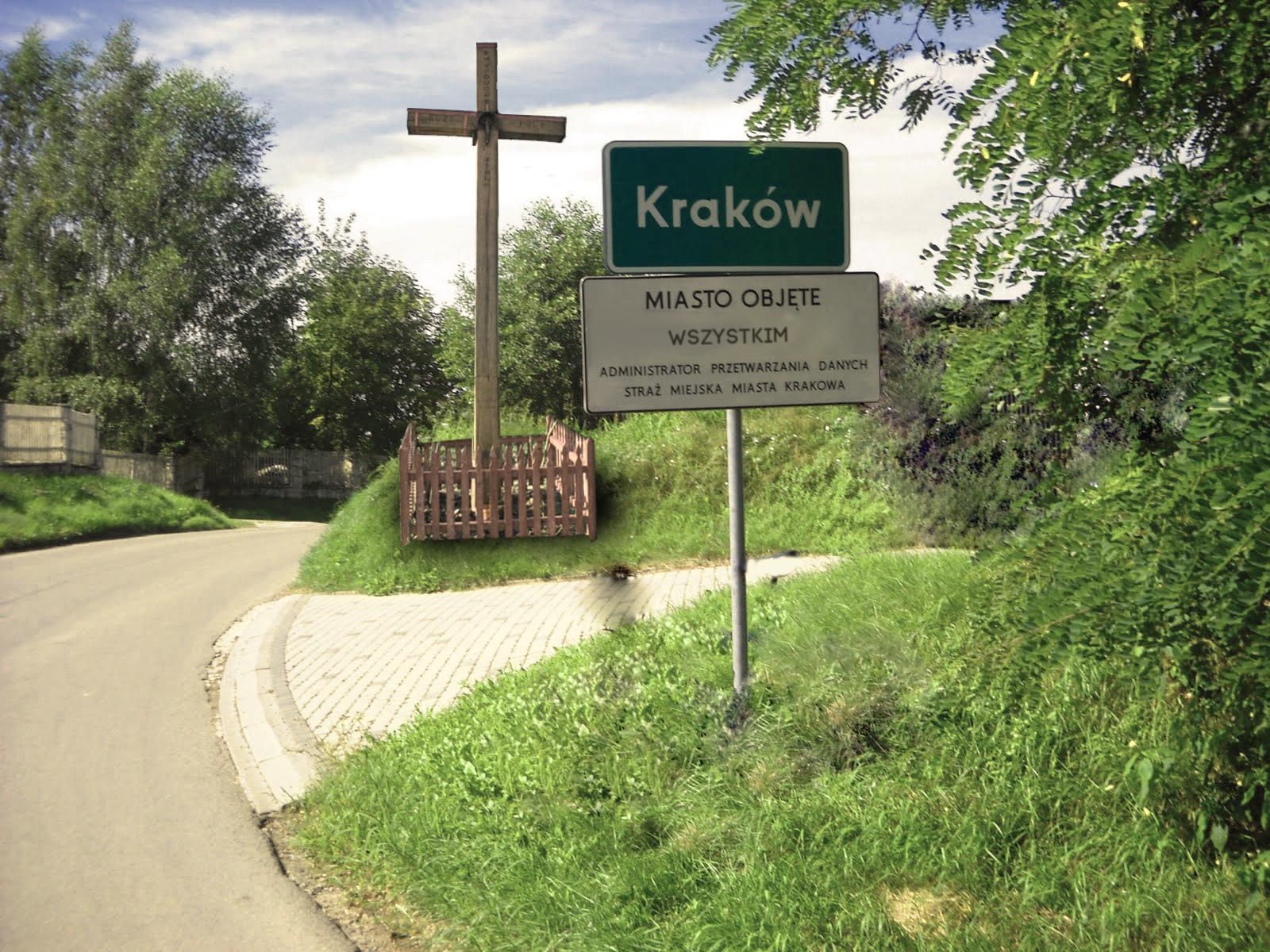 krzyż z krakowskiego przedmieścia